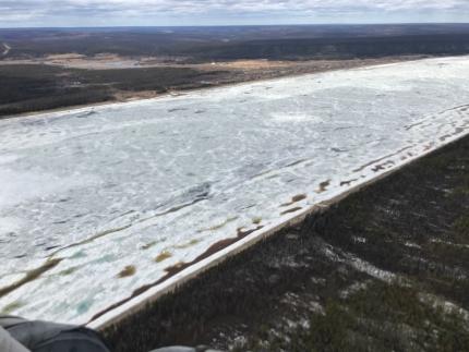 Паводковая обстановка на территории Республики Саха (Якутия) на 13.00 (якт) 3 мая 2018 года
