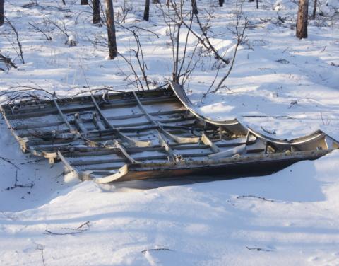 В Якутии возобновлены работы по поиску фрагментов ракеты-носителя
