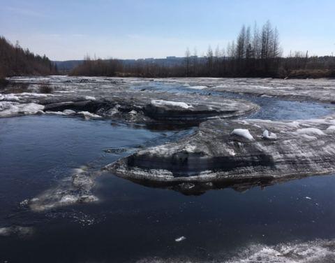ГОК «Денисовский» выплатит штраф за загрязнение реки Дежневка