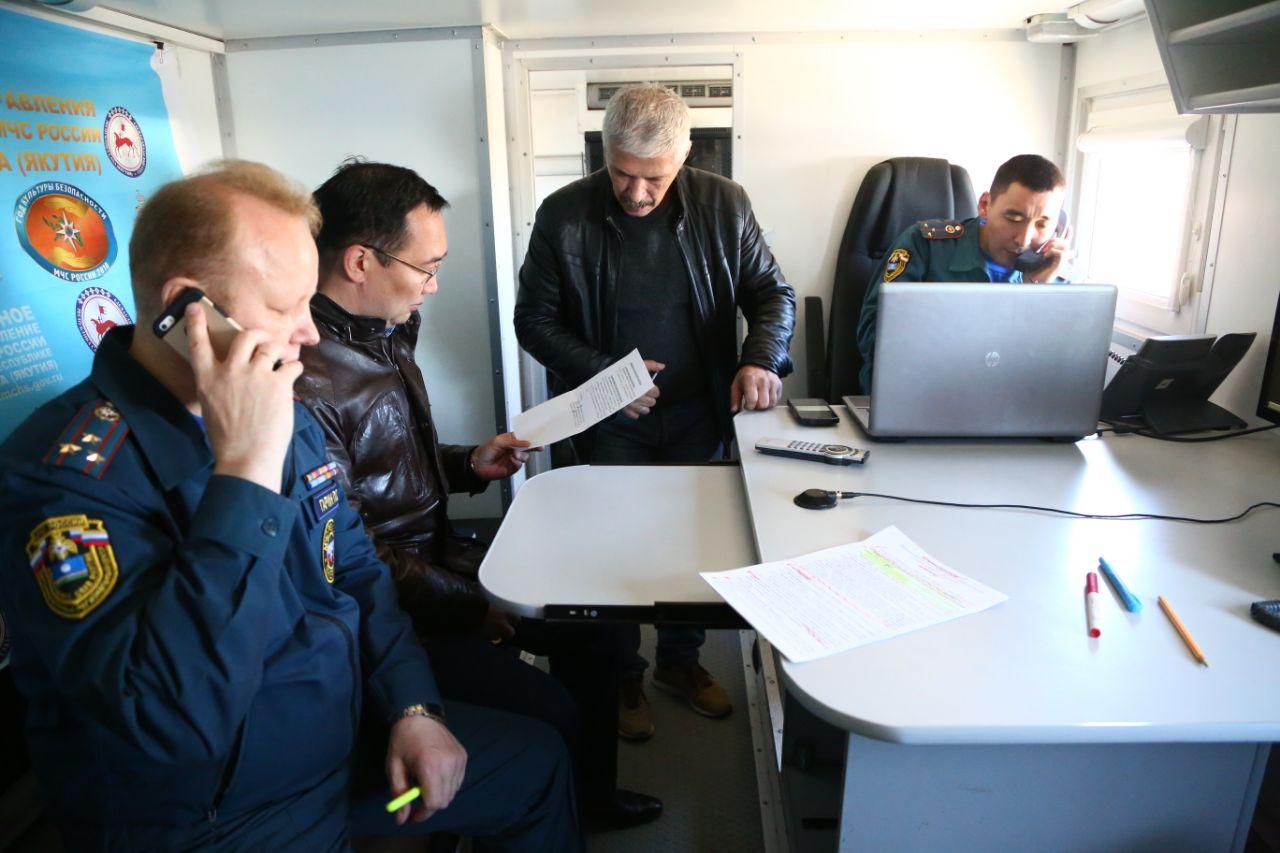 Айсен Николаев: Прогноз по паводку благоприятный, но режим ЧС пока не снимаем