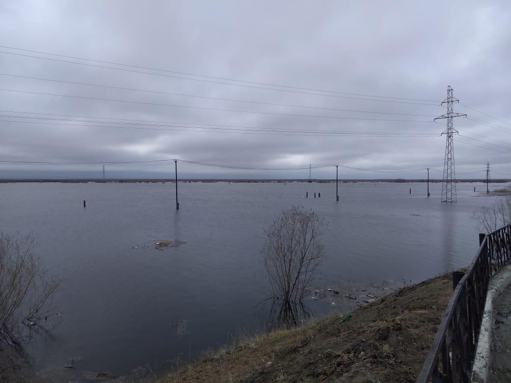 Паводковая обстановка на территории Якутска по состоянию на 12.00 часов