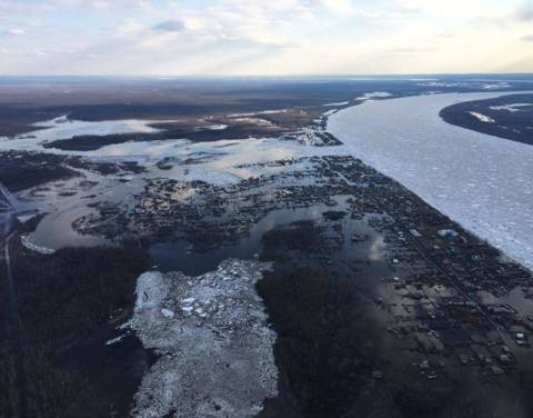 В подтопленных населенных пунктах работает комиссия по оценке ущерба