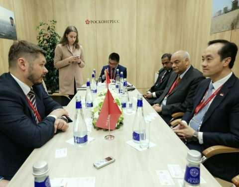 На ПМЭФ Сингапур и Якутия договорились о начале сотрудничества