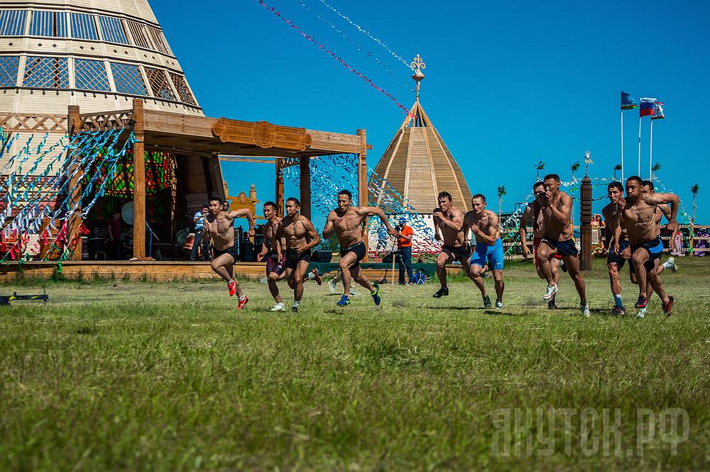 «Игры Дыгына» — самое зрелищное спортивное состязание Ысыаха Туймаады