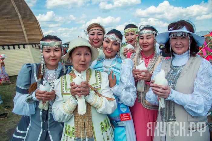 Городской фестиваль «Женщины долины Туймаада»