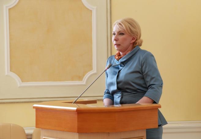 Ольга Балабкина приняла участие в торжественном собрании, посвященном 100-летию органов ЗАГС в Якутии