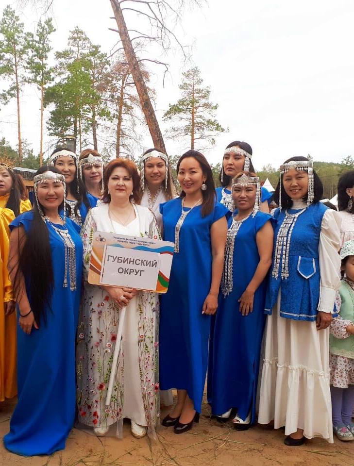 Отряд мам особого назначения Губинского округа – призер фестиваля «Женщины долины Туймаада-2018»