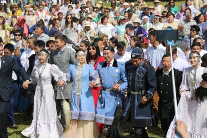Более 15 000 человек приняли участие в торжественном открытии Ысыаха Туймаады – 2018