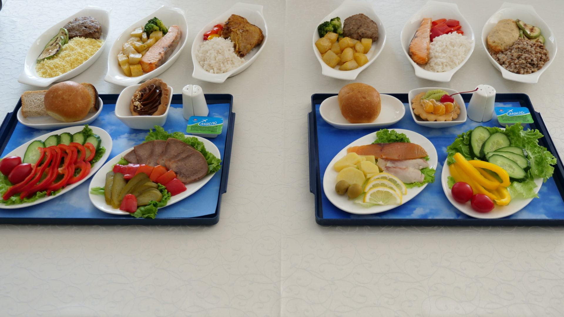 Цех бортового питания АО «Аэропорт Якутск» подготовил новое меню для пассажиров авиакомпании «Якутия»