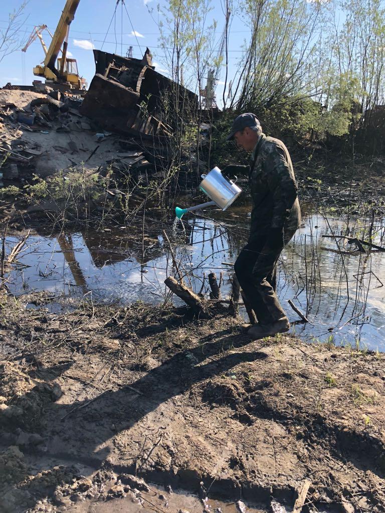 В Речпорту ситуация по устранению разлива нефтепродуктов стабилизируется