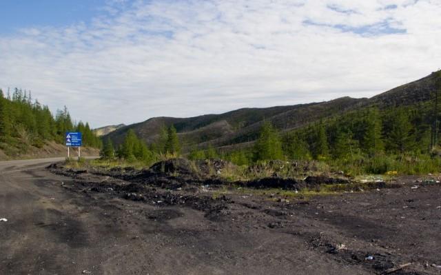 На трассе «Колыма» в Якутии остановлено движение из-за размыва дорожного полотна