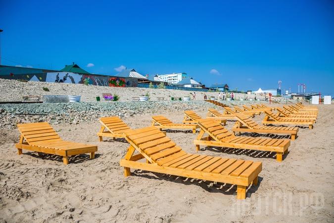 Якутский городской пляж готовится к купальному сезону
