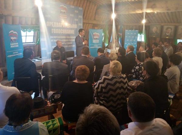 Татта встретила участников предварительного голосования на Главу Якутии