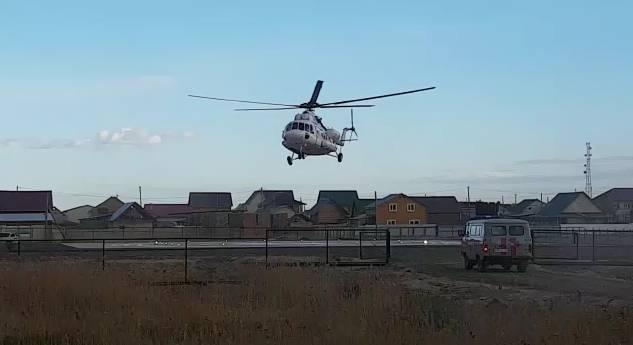 В Якутии на борту вертолета родился ребенок