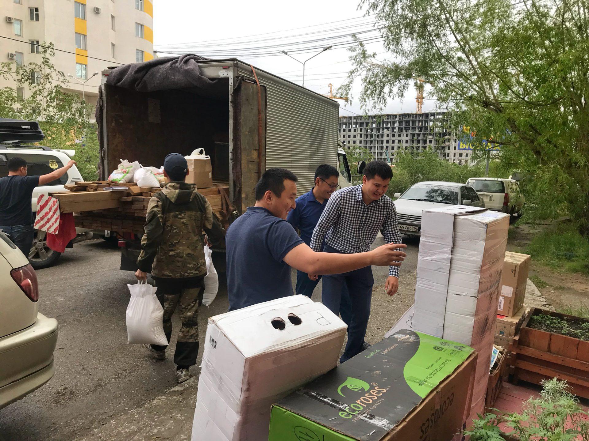 Управа Губинского округа оказала помощь пострадавшим от паводка