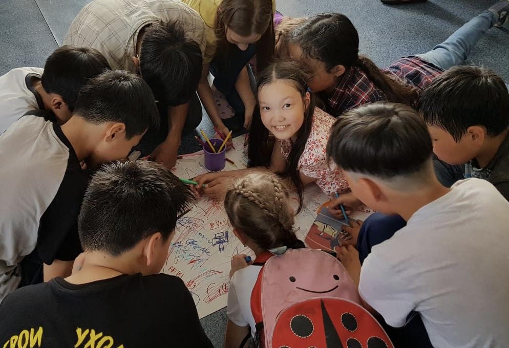 В летних оздоровительных лагерях дневного пребывания Детского (подросткового) центра работают психологи