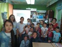 В Центральном округе прошли литературные мероприятия для детей