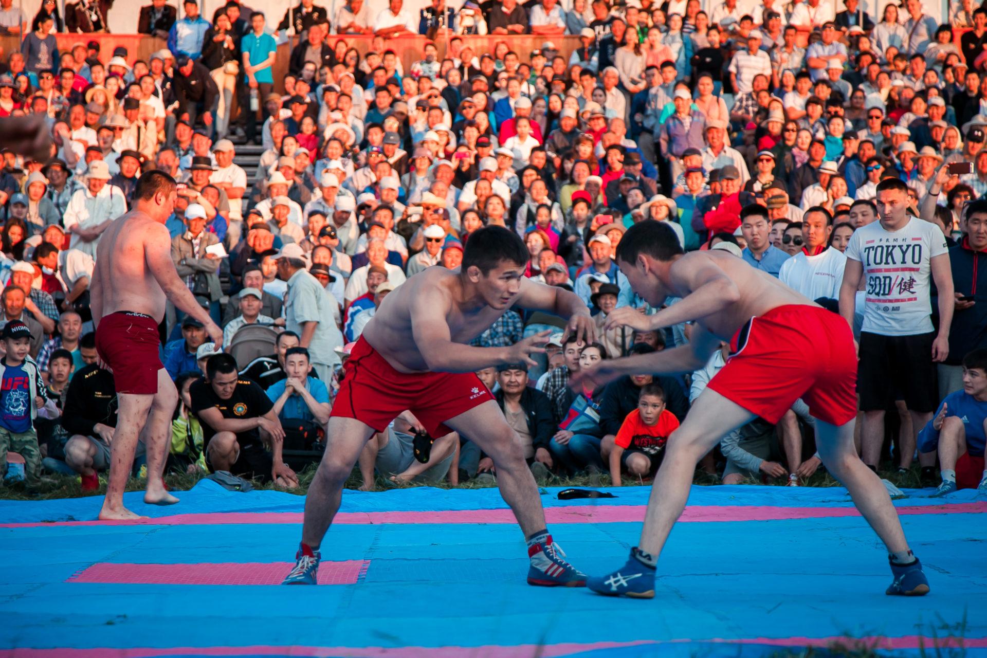 Ысыах Туймаады: Спортивные состязания «Игры предков»
