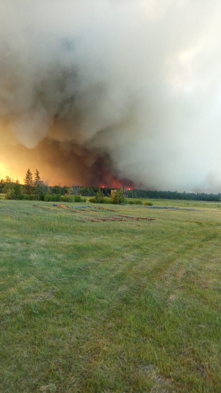 Лесные пожары в Нюрбинском улусе