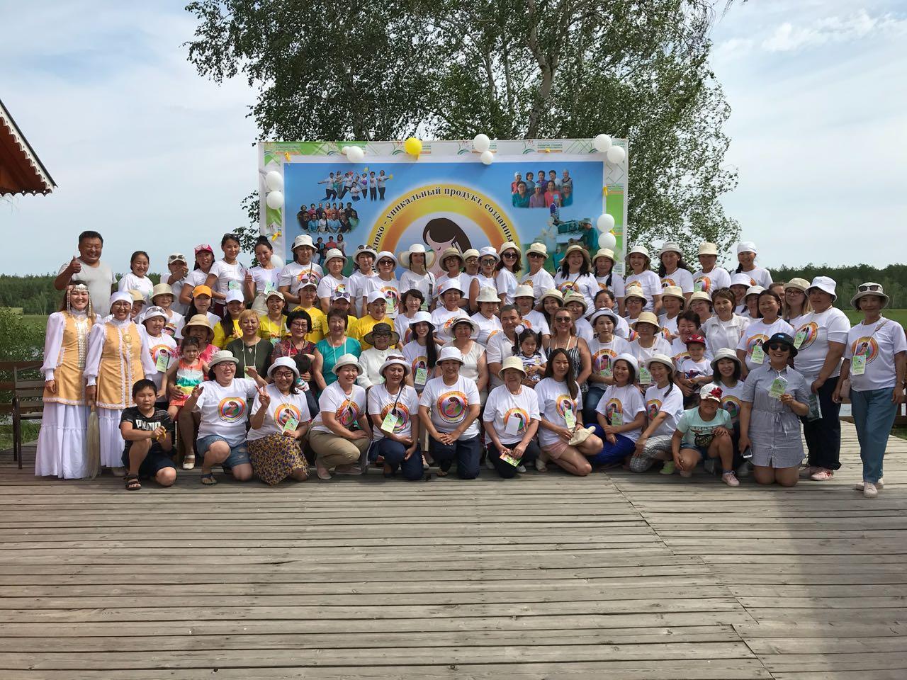 Межулусная конференция  «Материнское молоко – особый дар природы» в Амге