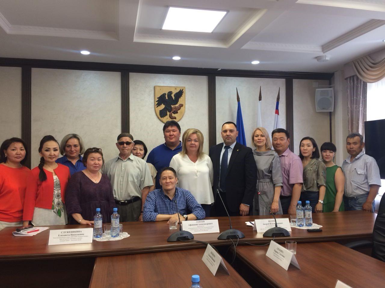 Центр занятости населения города Якутска  принял участие на круглом столе по вопросам доступной среды