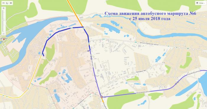 Автобусный маршрут № 6 продлен до микрорайона Борисовка-1