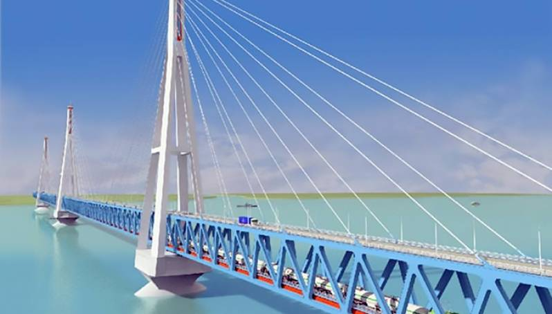 Эксперты оценили стоимость моста через реку Лена в Якутии в 70-80 млрд рублей