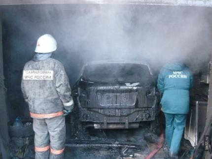 МЧС напоминает: памятка для владельцев гаражей и автомашин