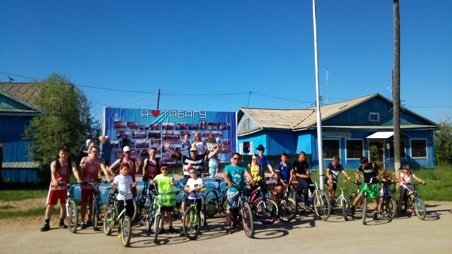 В Табаге прошел велоквест