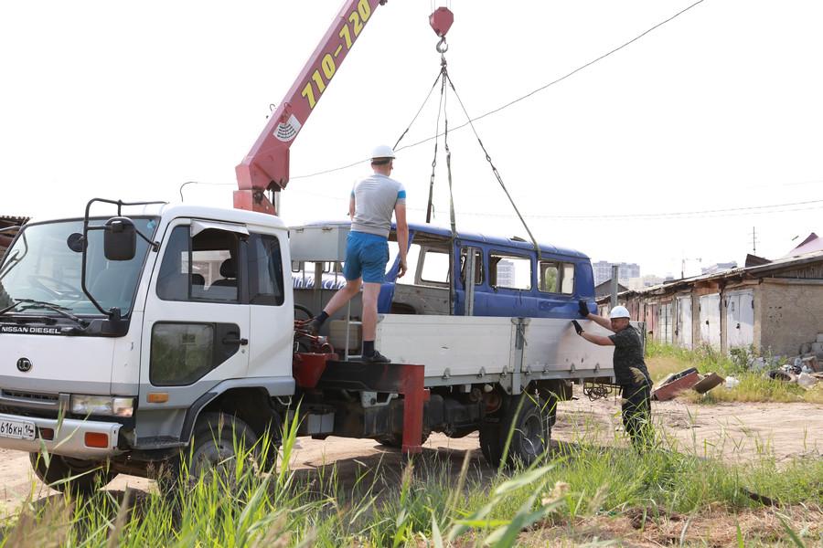 Акция «Вызов-кузов!»: В Автодорожном округе вывезен еще один кузов