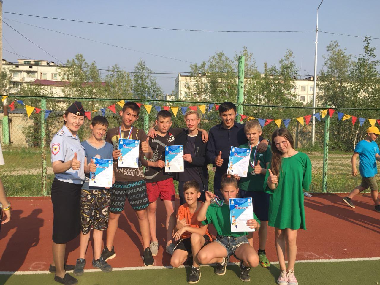 Команда Сайсарского округа – призер фестиваля «Игр предков»
