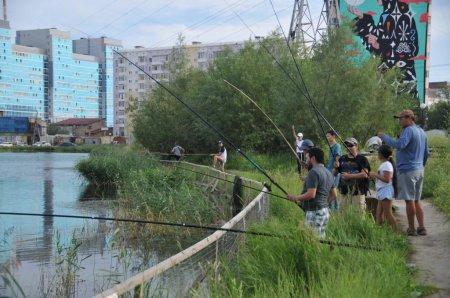 В Центральном округе прошли II городские соревнования по рыбной ловле
