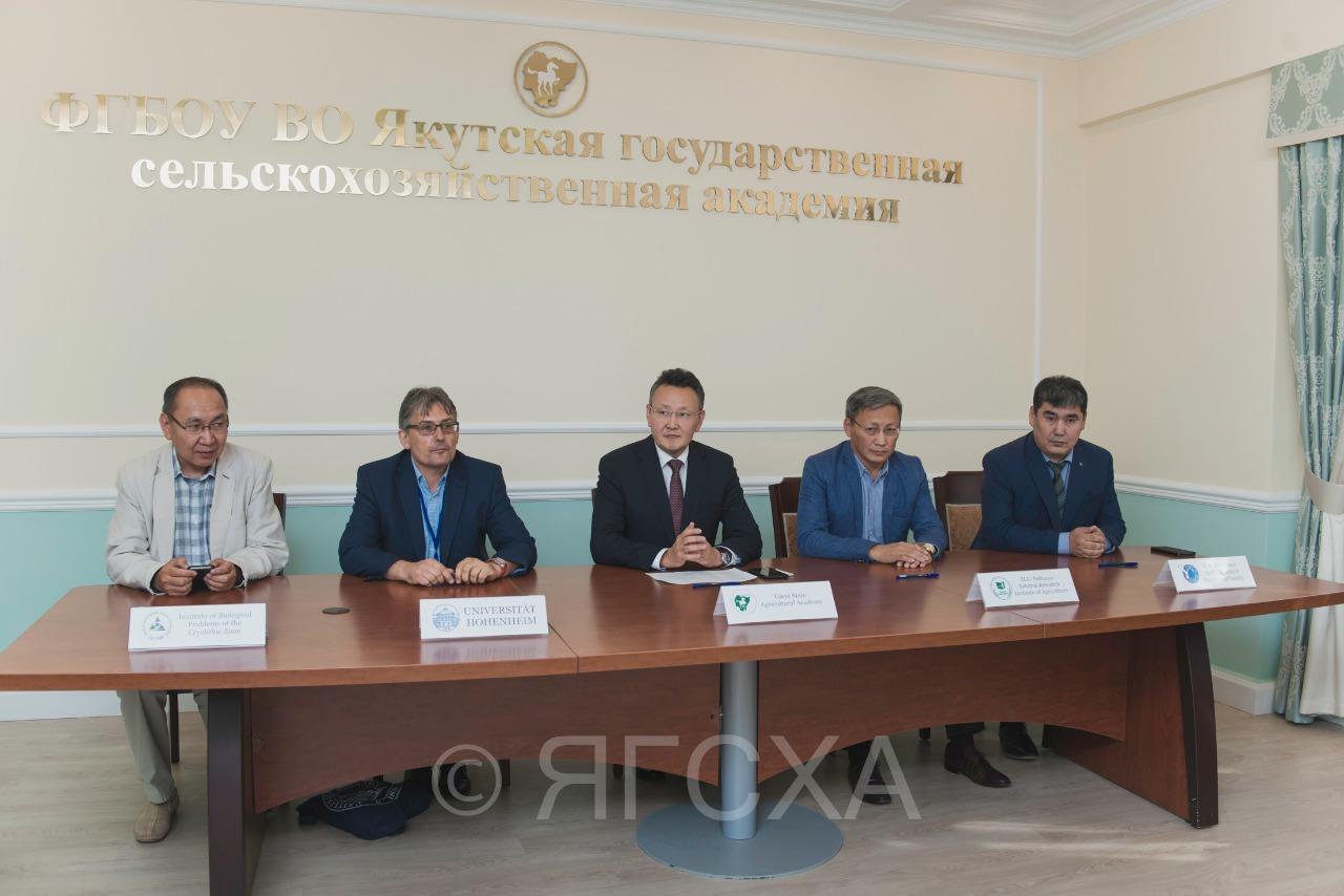 Подписано намерение о сотрудничестве Германиии Якутии  в сфере научных исследований