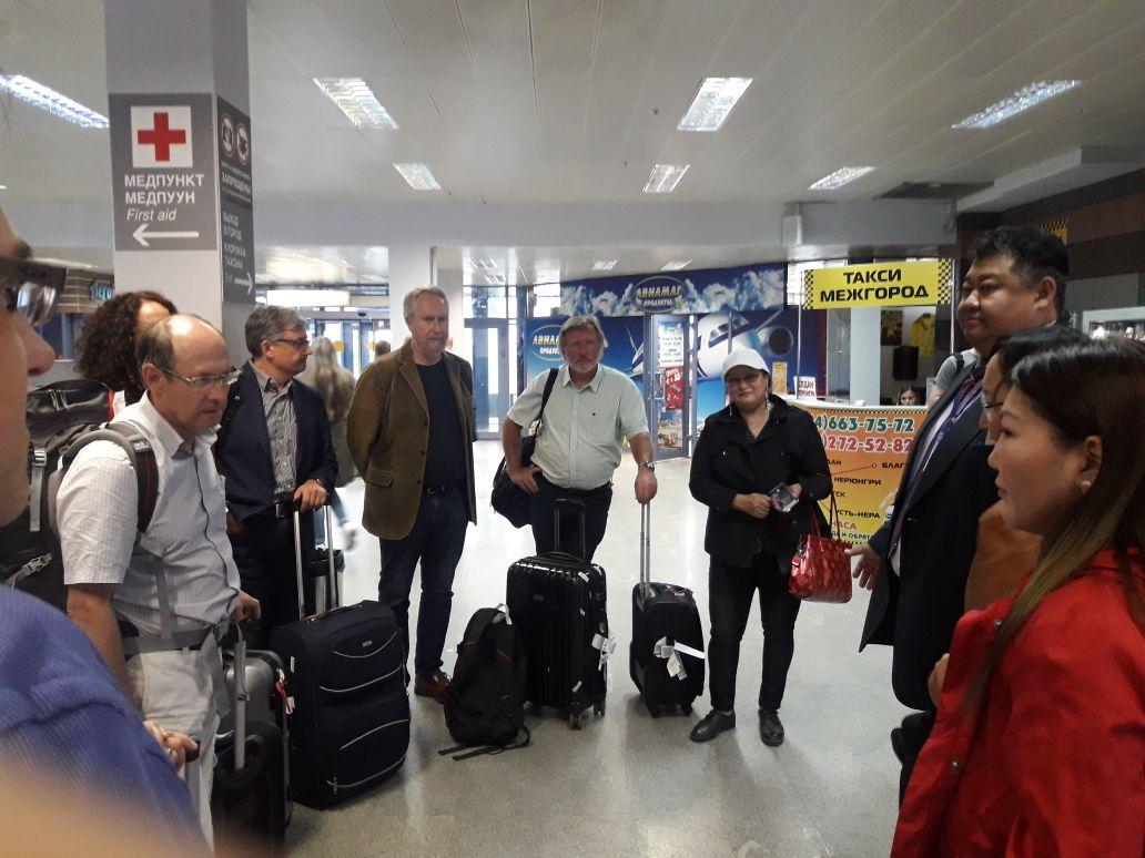 По приглашению ректора Якутской ГСХА в Якутск прибыла представительная делегация из Университета Хоэнхайм, Германия