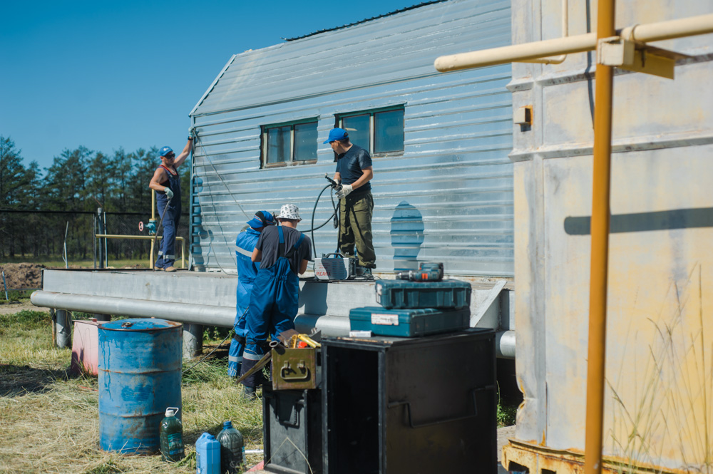 В Якутии ведется работа по обновлению газораспределительных станций