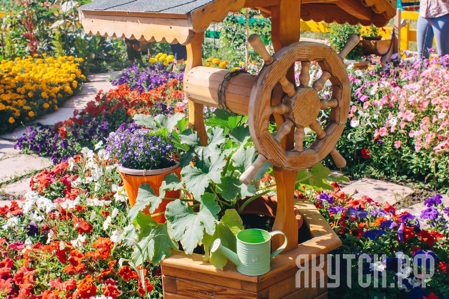 В Якутске подводятся итоги конкурса «Миллион цветов»
