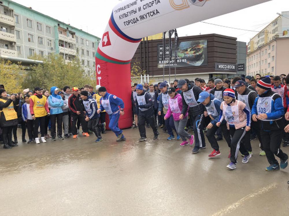 Управа Губинского округа завоевала серебро  в забеге «Кросс нации-2018»