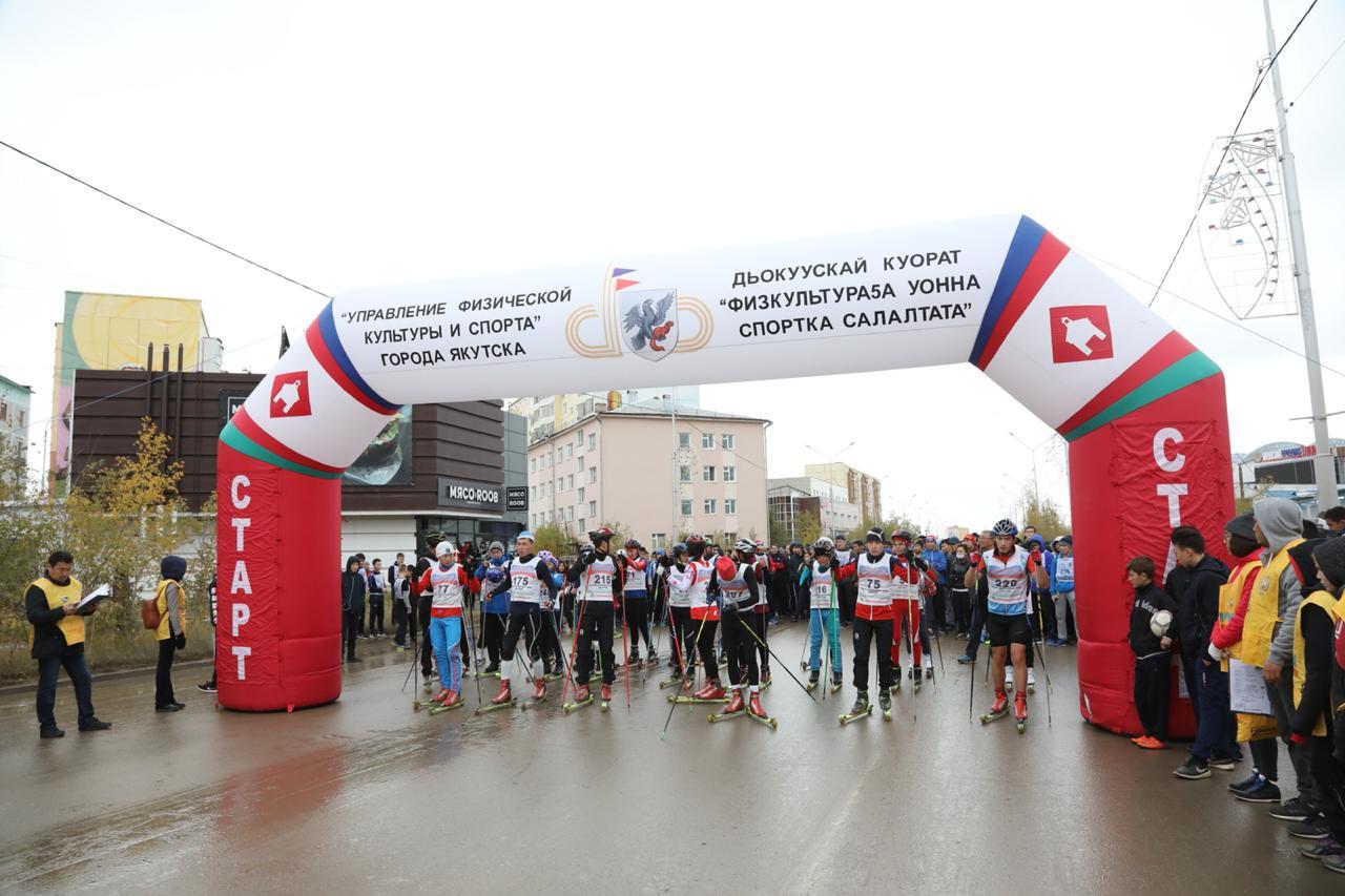 Все на бег: В Якутске прошел Всероссийский день бега «Кросс нации – 2018».