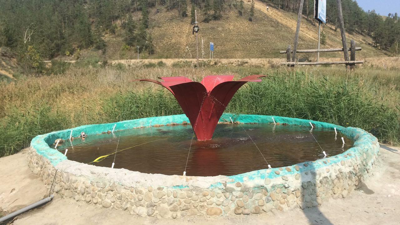 Фонтан «Сардана» в Сайсарском округе