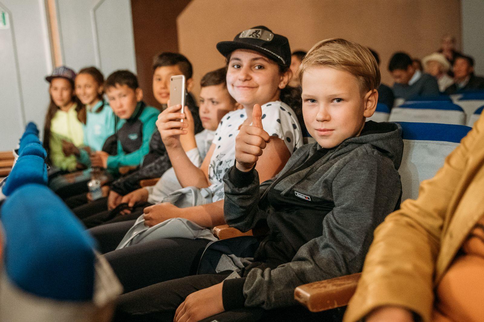 В Олёкминске открылся кинозал