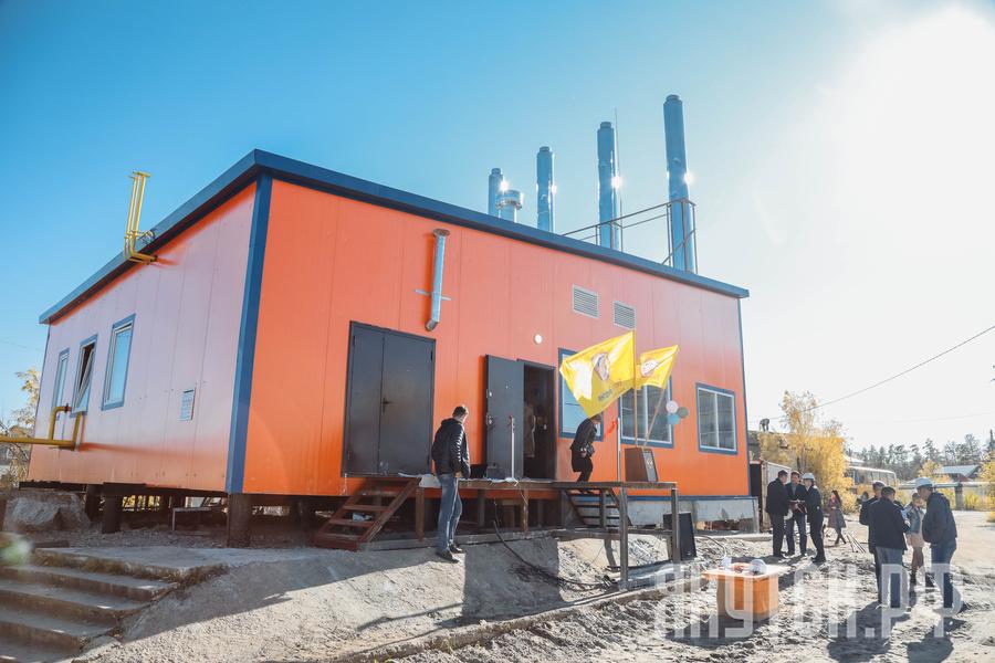 В Якутске состоялось открытие новой котельной