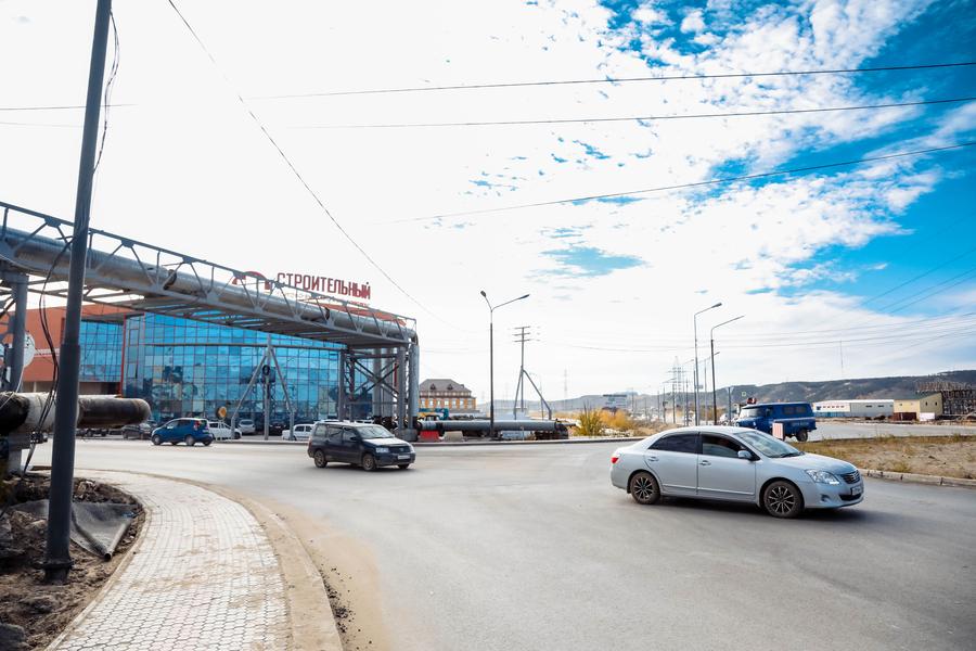 В Якутске ввели очередную круговую развязку