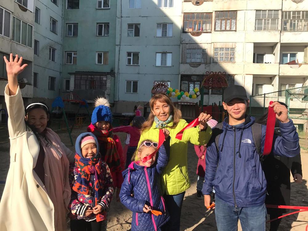 Сайсарский округ завершил первую городскую акцию «Двор баттл»