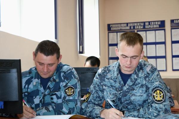 В Управлении состоялись учебно-методические сборы сотрудников Центра инженерно-технического обеспечения и вооружения