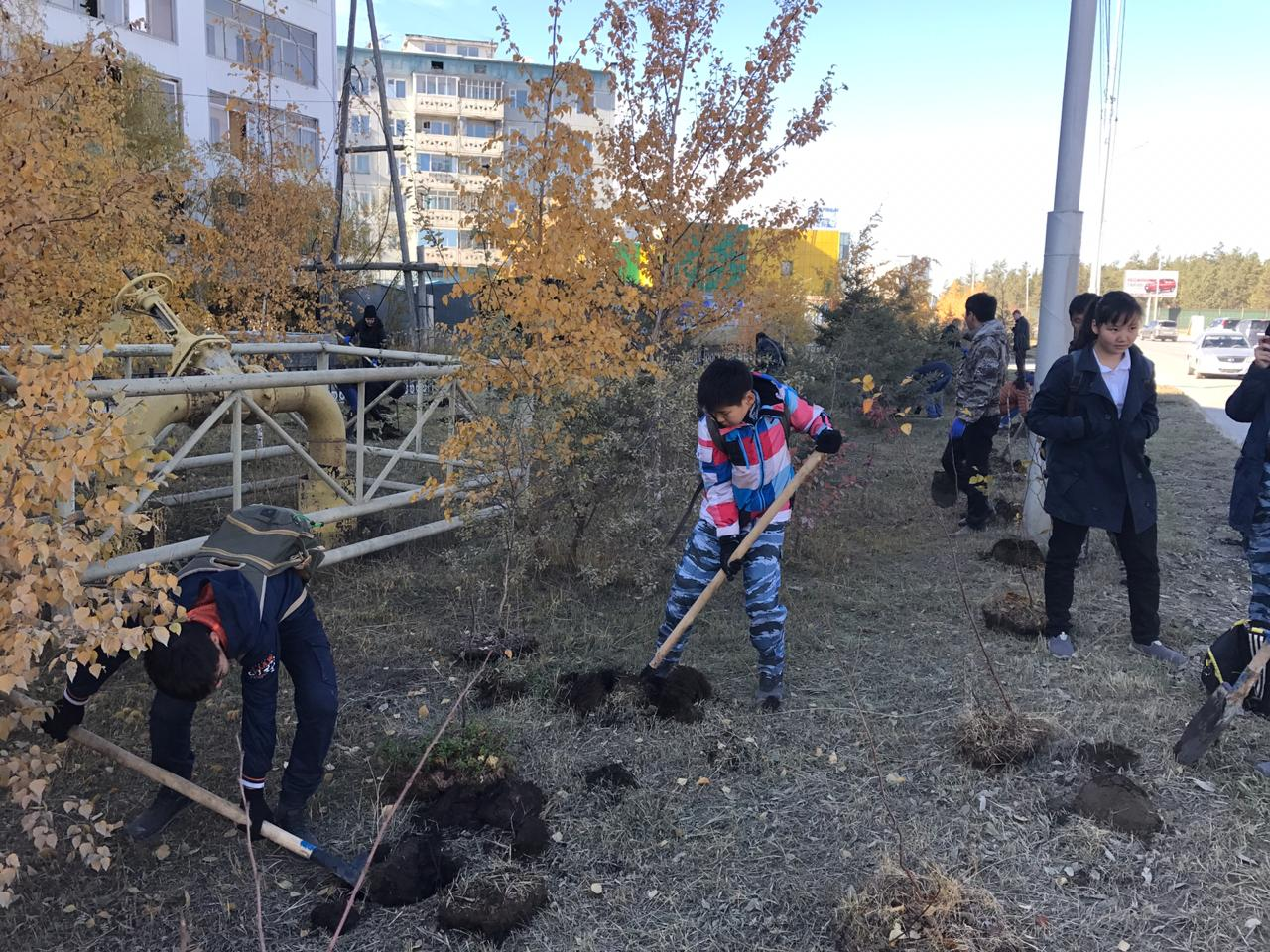 Участие во Всероссийском субботнике «Эко Добровольцев»