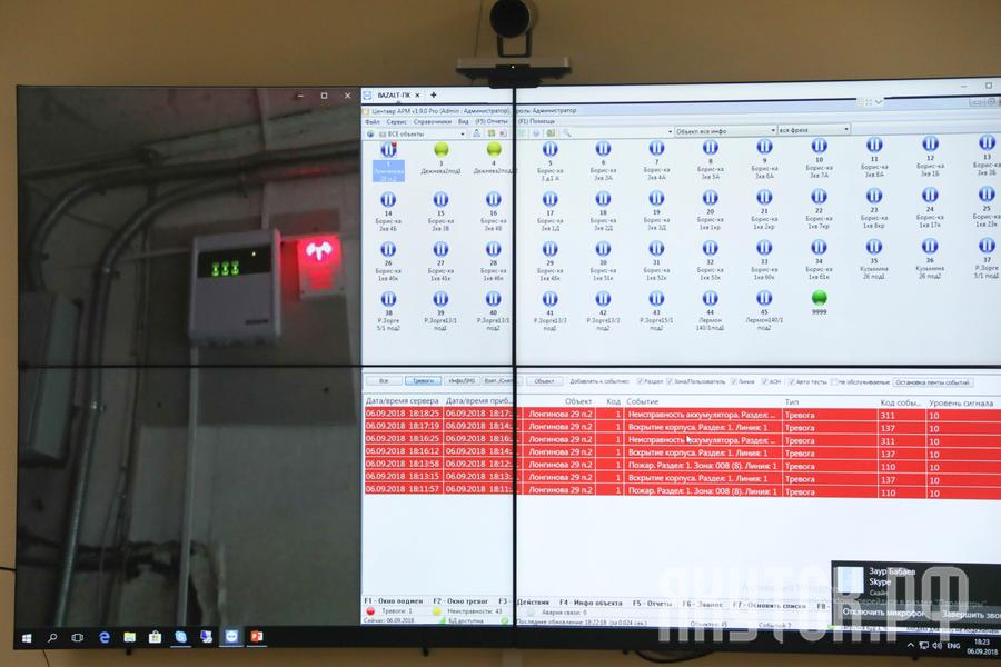 К Дню города запустили новую систему мониторинга пожарной безопасности