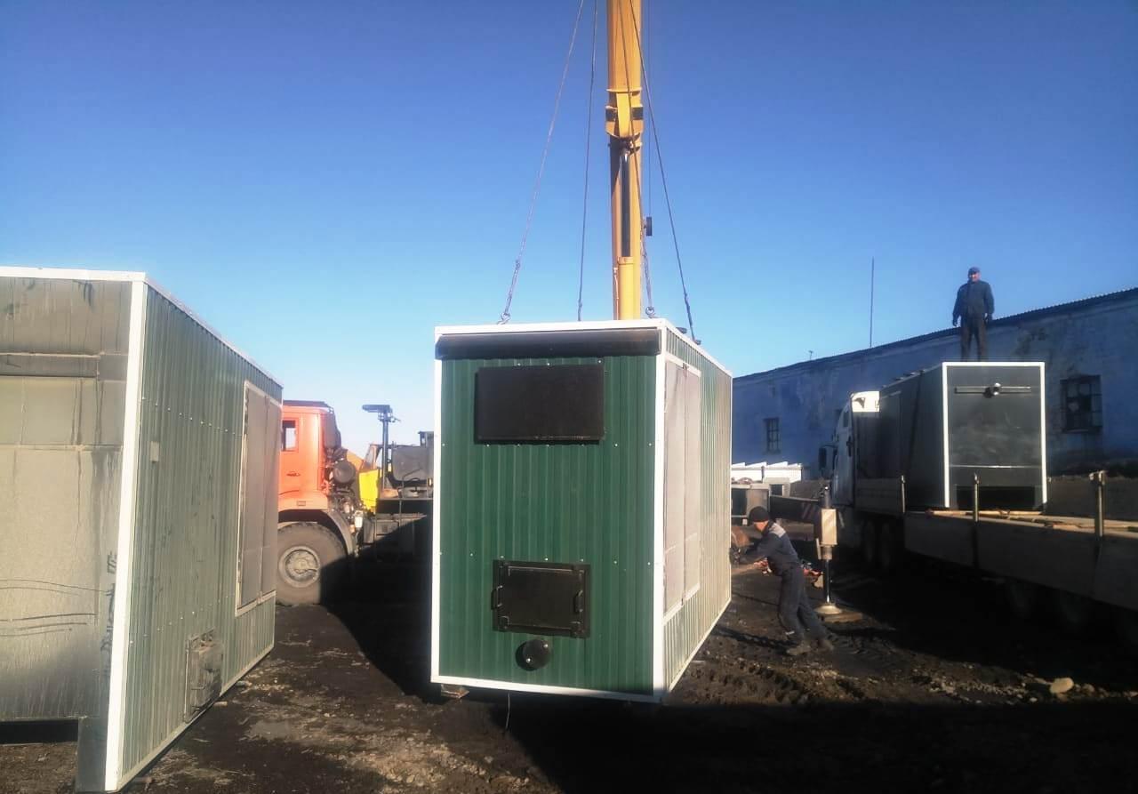 В Хандыге строят крупный теплоснабжающий объект