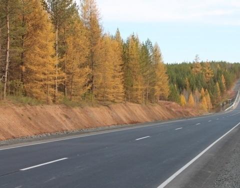 В Якутии после реконструкции введут в эксплуатацию участки федеральной трассы «Вилюй».