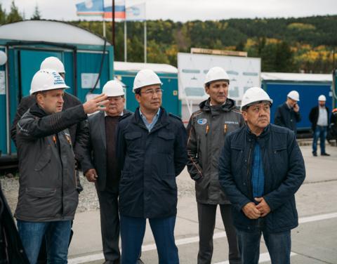 Айсен Николаев посетил Ленский район