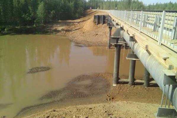 Минэкологии Якутии:  По реке Вилюй размер ущерба еще уточняется